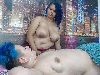 Webcam Film over Webcam Amateur Lesbians Fingering Play Porn
