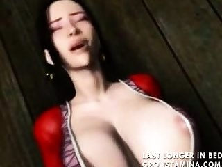 Incomprehensible 3D hentai hoe riding gumshoe