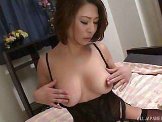 Close up homemade video be worthwhile for mature Japanese Shinobu Igarashi