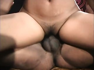Indian Desi babe fucked Doggystyle coupled with cumload