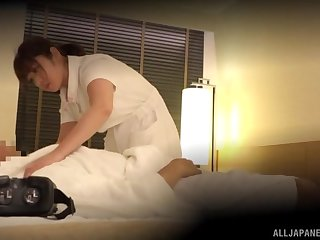 Spy cam catches a Japanese feel interest having sexual connection forth a patient