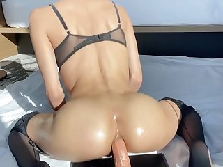 My Mexican asshole loves anal