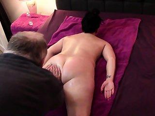 Nice amateur grown up ass