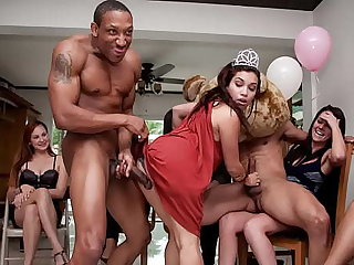 Sparking Rest consent to - Corrupt CFNM Feast-day Party With Big Dick Male Strippers