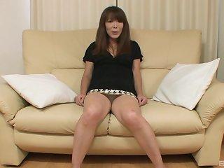 Dazzling Japanese mature in unmitigated cam XXX
