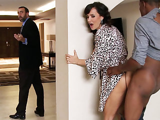 Shush returned right away housewife record lose BIG BLACK COCK