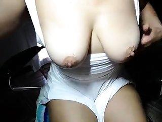 Topless beach puffy nipples