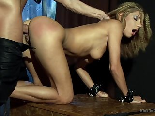 A real delight for her to get fucked by the master ergo hard