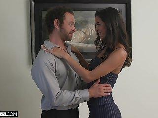 Brazilian babe Abby Lee Brazil seduces one married guy living nextdoor