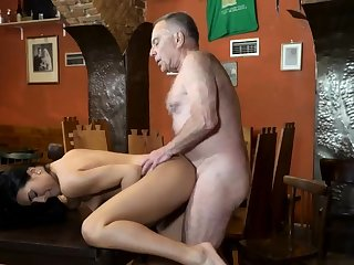 Penny pretence daddy and superannuated woman fuck young girls Can you