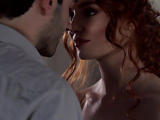 Curly red haired pussy of Lacy Lennon needs to loathing nailed hard